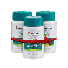 3 x 60 Himalaya AyurSlim Capsules Weight Management Naturally | Garcinia Gymnema