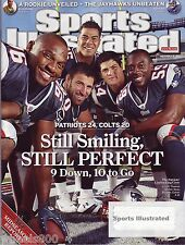 2007 Sports Illustrated New England Patriots LB Crew Subscription Issue Excellen