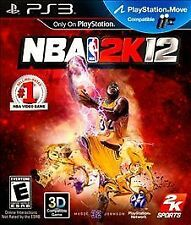 NBA 2K12 For PlayStation 3 PS3 Basketball Very Good 3E