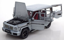 Iscale 2016 Mercedes Benz G Klasse W463 Silver Dealer Edition 1/18 Scale. New!