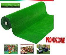 Prato sintetico erba finta artificiale calpestabile tappeto verde moquette 1X25m