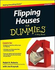 Flipping Houses for Dummies by Ralph R. Roberts and Joseph Kraynak (2014,...