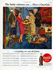 1945 Coca-Cola ad -Coke ad ---Coming Home, From War, With New Wife ---k326