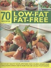 70 Low-Fat Fat-Free Recipes: Deliciously healthy soups, starters, main-ExLibrary