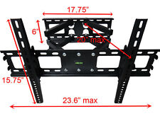 LOCKABLE FULL MOTION TILT LCD LED TV WALL MOUNT BRACKET  42 50 52 54 55 60 70 IN