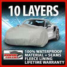 10 Layer Car Cover Indoor Outdoor Waterproof Breathable Layers Fleece Lining 287
