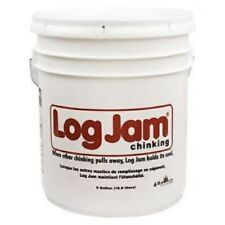 Sashco Log Jam Log Home Chinking 5 Gallon Pail - Gray
