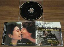 JOHN LENNON Japan PROMO ONLY 4 track CD official THE BEATLES Milk & Honey MORE!