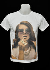 Lana Del Rey indy rock Punk crew 100% soft cotton Tank Top t-shirt CL size L