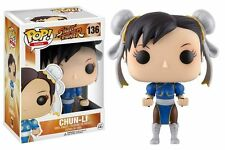 Funko POP! Games - Street Fighter - Chun-Li #136 Vinyl Figure 11653 IN STOCK