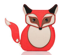 KATE SPADE New York BLAZE A TRAIL Fox Coin Purse NWT WLRU2560
