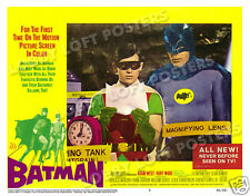 BATMAN LOBBY SCENE CARD # 6 POSTER 1966 ADAM WEST BURT WARD ROBIN BATANALYST