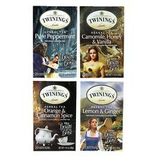 BEAUTY AND THE BEAST MOVIE LIMITED EDITION TWININGS HERBAL TEA COLLECTION NIB