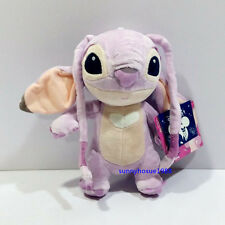 "RARE 9""/22CM LILO AND STITCH ANGEL PLUSH STUFFED TOYS DOLL FREE SHIPPING NWT"