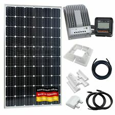 280W 12V/24V solar panel charging kit for motorhome,caravan,camper,boat,off-grid