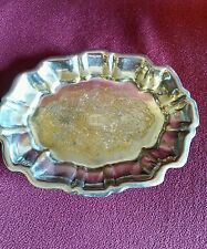 English Silver MFG Corp. Made in USA. Little Tray MRR
