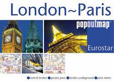 Londra-Parigi-EUROSTAR (Regno Unito E Irlanda Mappe), MAPPA GRUPPO, 1845876547, NUOVO LIBRO