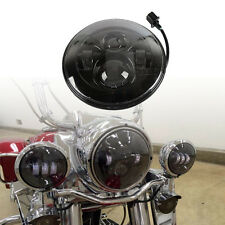 """7"""" Daymaker Projector Headlight for Harley Softail Deluxe Fat Boy FLD FLS Slim"""