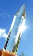 Tibetan High Altitude CITRINE QUARTZ POINT WAND REIKI HEALING VOGEL 12 side cut.