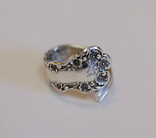 Antique Gorham Buttercup Sterling Silver Spoon Ring.. Class '09 Size 10.5 (#35)
