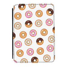 Doughnut Pattern Donut Sprinkles iPad Mini 1 2 3 PU Leather Flip Case Cover