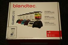 Blendtec C575A2323B-A1AP1D Blendtec Classic 575 Blender WildSide Jar Polar White