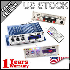 HOT Power HiFi Stereo AMP Amplifier For ipod Car Home PC MP3 FM Audio mimi US CE