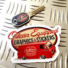 OILCAN EQUIPPED sticker edition logo, exclusive ebay uk limited edition