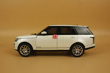1:18 GT AUTOS Land Rover Range Rover WHITE COLOR + gift ! ! !