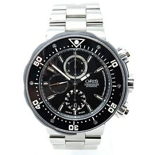 Oris Pro Diver Chronograph Black Dial Titanium 51mm Self-Winding Automatic