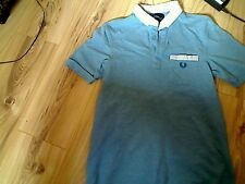 Fred Perry blue men Polo Shirt Small