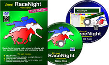 Run your own fundraising Race Night with this proven, reusable, DVD system.