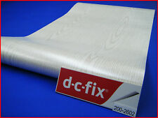 DC FIX White Wood 1m x 45cm Sticky Back Self Adhesive Vinyl Contact Paper 2602