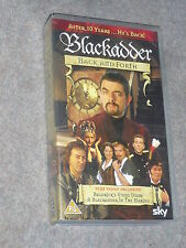 VHS Tape Blackadder Back and Forth Rowan Atkinson Kate Moss Hugh Laurie Stephen