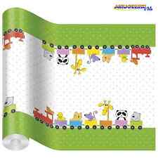 Table Runner FUNNY TRAIN Printed Tissue Party Kids Decoupage Tableware Children