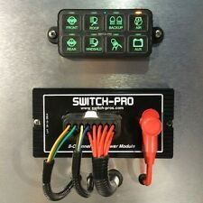 Switch-Pros SP-8100 Switch Panel Power System Jeep Truck LED Lighting Bluetooth