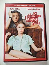 10 Things I Hate About You -widescreen DVD 2010 10th Anniversary Edition