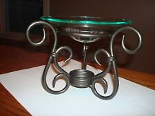 PartyLite - Antique Brass Aroma Melts Warmer Candle Holder P8016 - New with Box