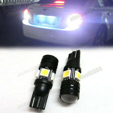 2pcs White 4-SMD 5050 LED Bulbs For Car Parking Light 168 194 2825 5W dc