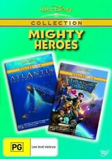Treasure Planet  / Atlantis - The Lost Empire (DVD, 2006, 2-Disc Set) DISNEY