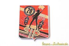 "VESPA Metall-Plakette ""20 Jahre SIP Scootershop 1994-2014"" - Open Day Emaille"