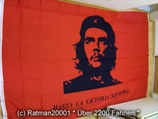 Fahnen Flagge Che Guevar Hasta La Victoria -1- 150  x 250 cm