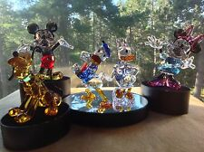 SWAROVSKI MICKEY MOUSE & FRIENDS (Mickey~Minnie~Donald~Daisy~Pluto)  w/Display