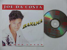 CD Single JOE DA COSTA Banana  LEVITAN 8136 Pochette format 45 tours