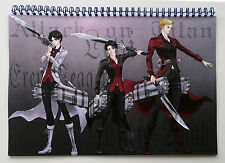 "Wall Calendar 2017 (12 pages 8""X11"" / A4) ATTACK ON TITAN Anime Manga A-727"