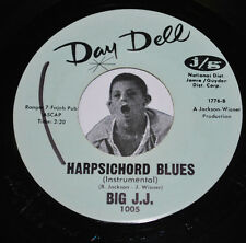 Norma Tracey Leroy / Big JJ Harpsichord Blues 45 '64 Pre-Teen Day Dell 1005