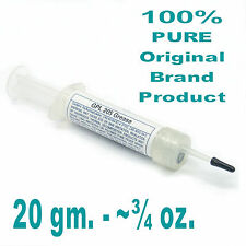 ORIGINAL BRAND GPL 205 Grease SCUBA Oxygen Nitrox 20g (3/4oz) Reclosable Syringe