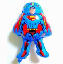 ♛ Shop8 : SUPERMAN FOIL BALLOON Theme Party Needs Decor