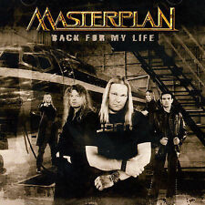 Back For My Life by Masterplan CD Heavy Metal AFM Germany