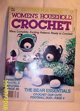 CraftBook E231 FALL 1986 WOMEN'S HOUSEHOLD CROCHET
